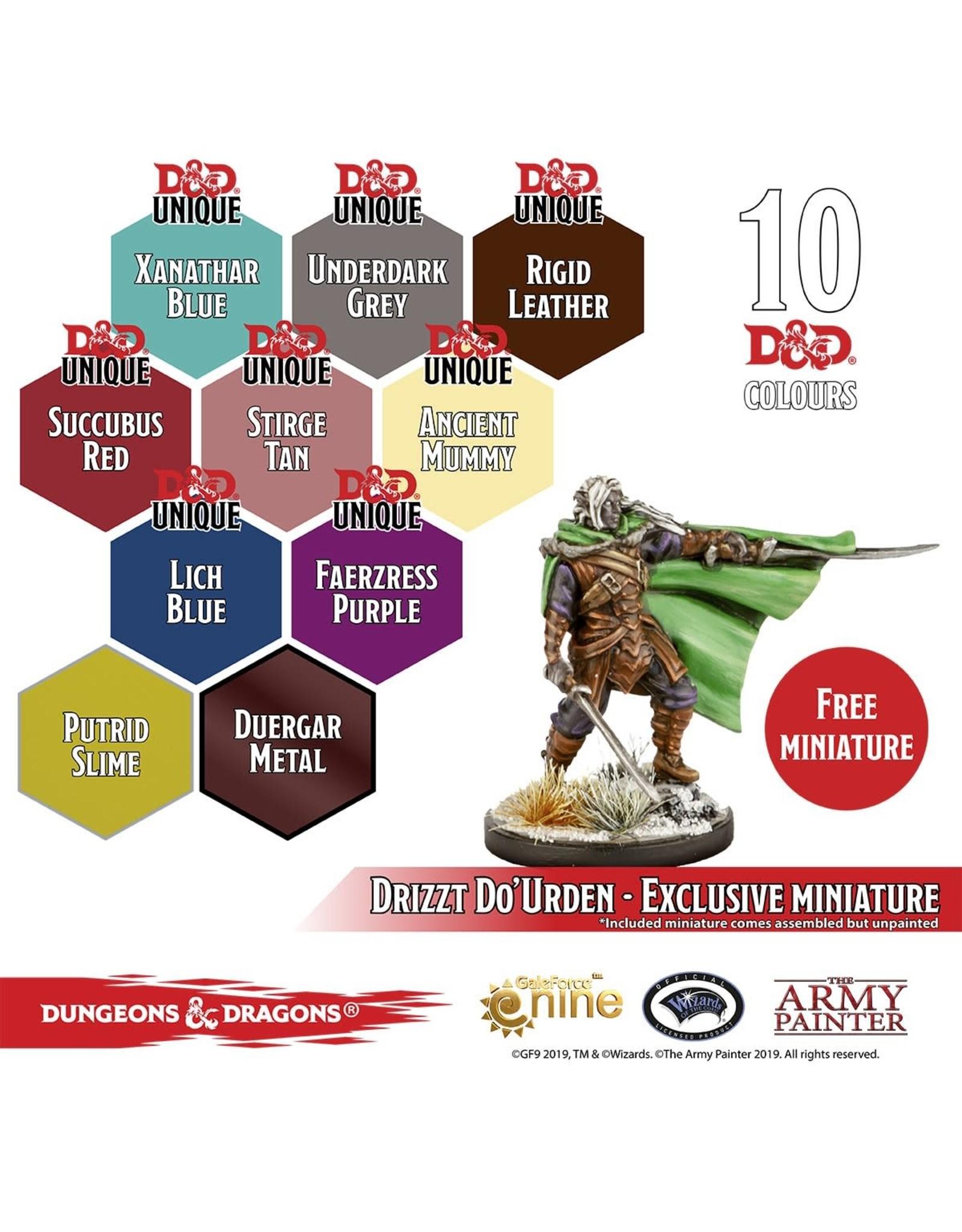 Army Painter Paint Set: D&D 5th Ed. - NMP - Underdark Paint Set