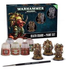 GW: Games Workshop GW: Death Guard Paint Set
