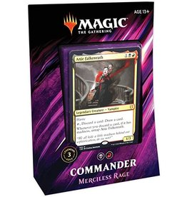 Wizards of the Coast MtG: Commander 2019 Deck: Mercilless Rage