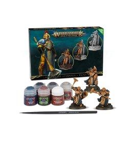 GW: Games Workshop GW: AoS: Stormast Eternals + Paint Set