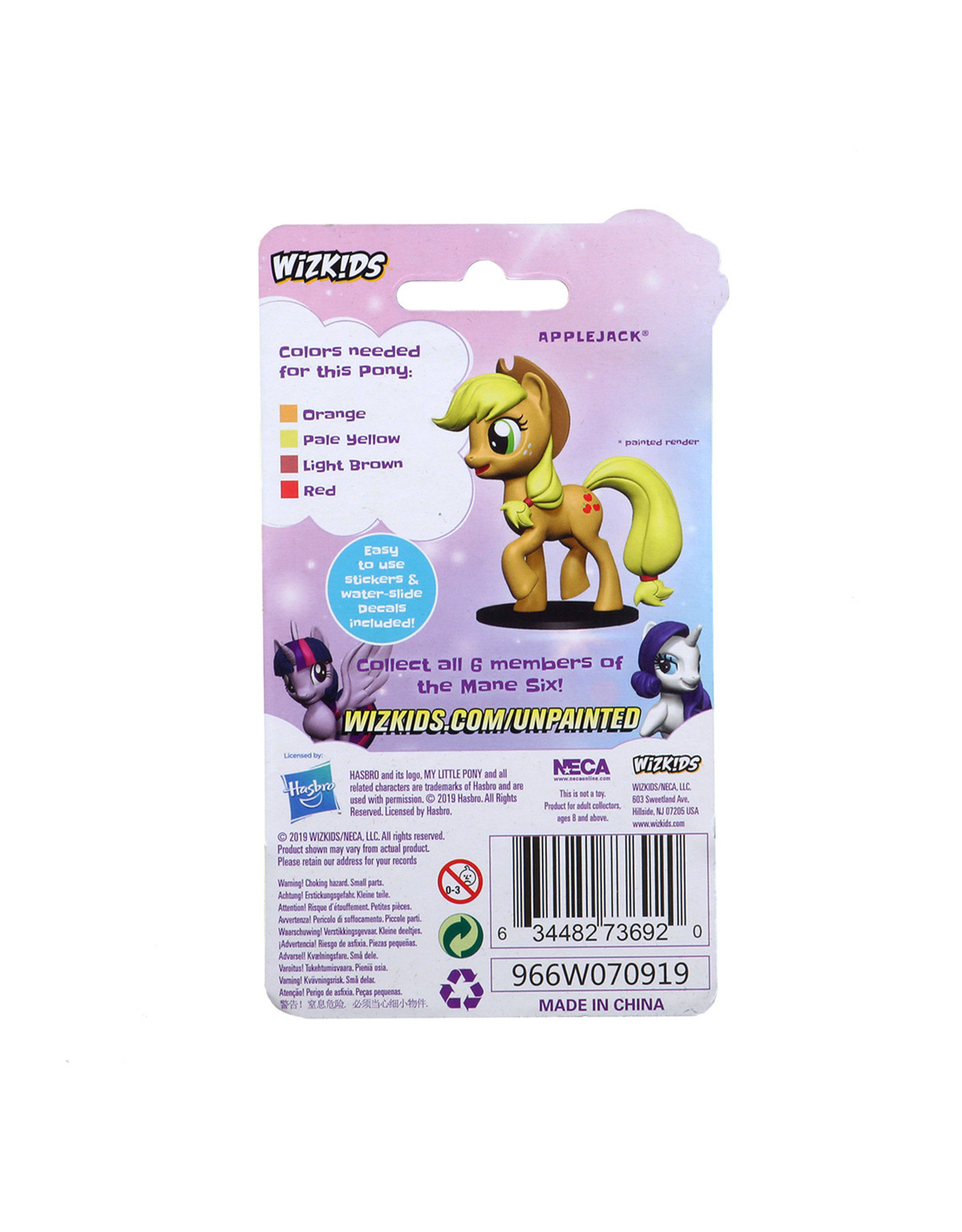 WizKids WZK: MLP UP: AppleJack