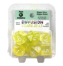 Role4Initiative R4I: 7 set Diffusion OCHRE JELLYwh