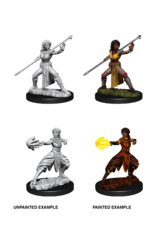 WizKids WZK D&D DC: W10: Female Half-Elf Monk