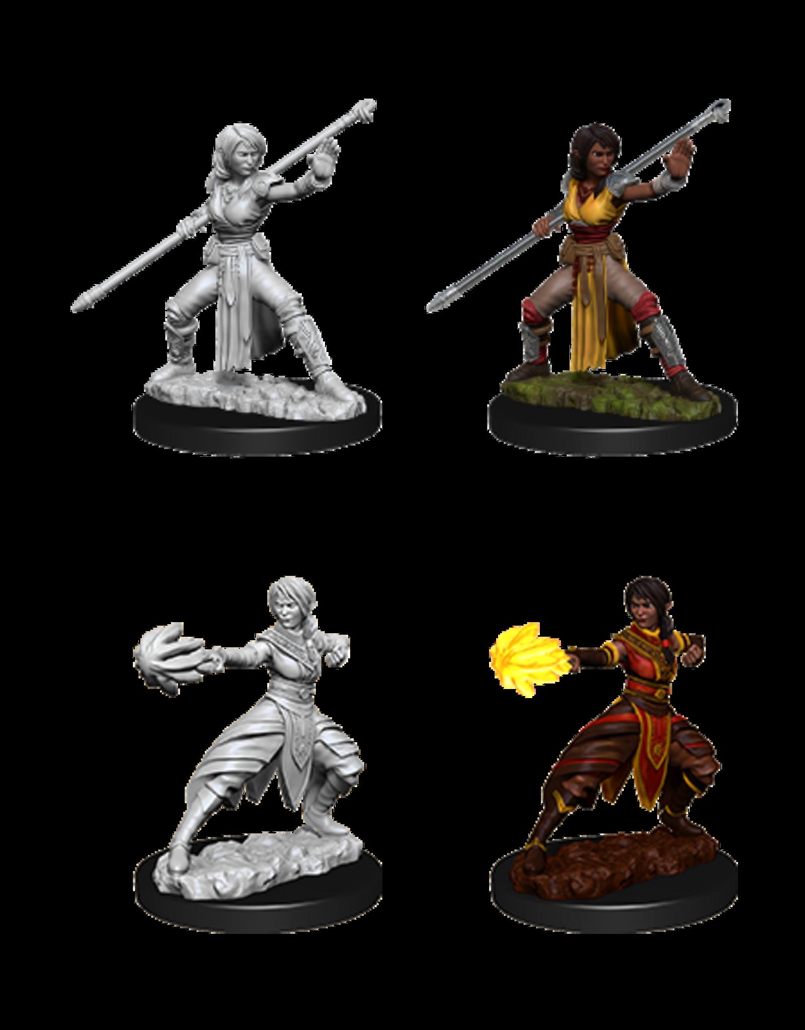 WizKids WZK D&D DC: W10: Female Half-Elf Monk
