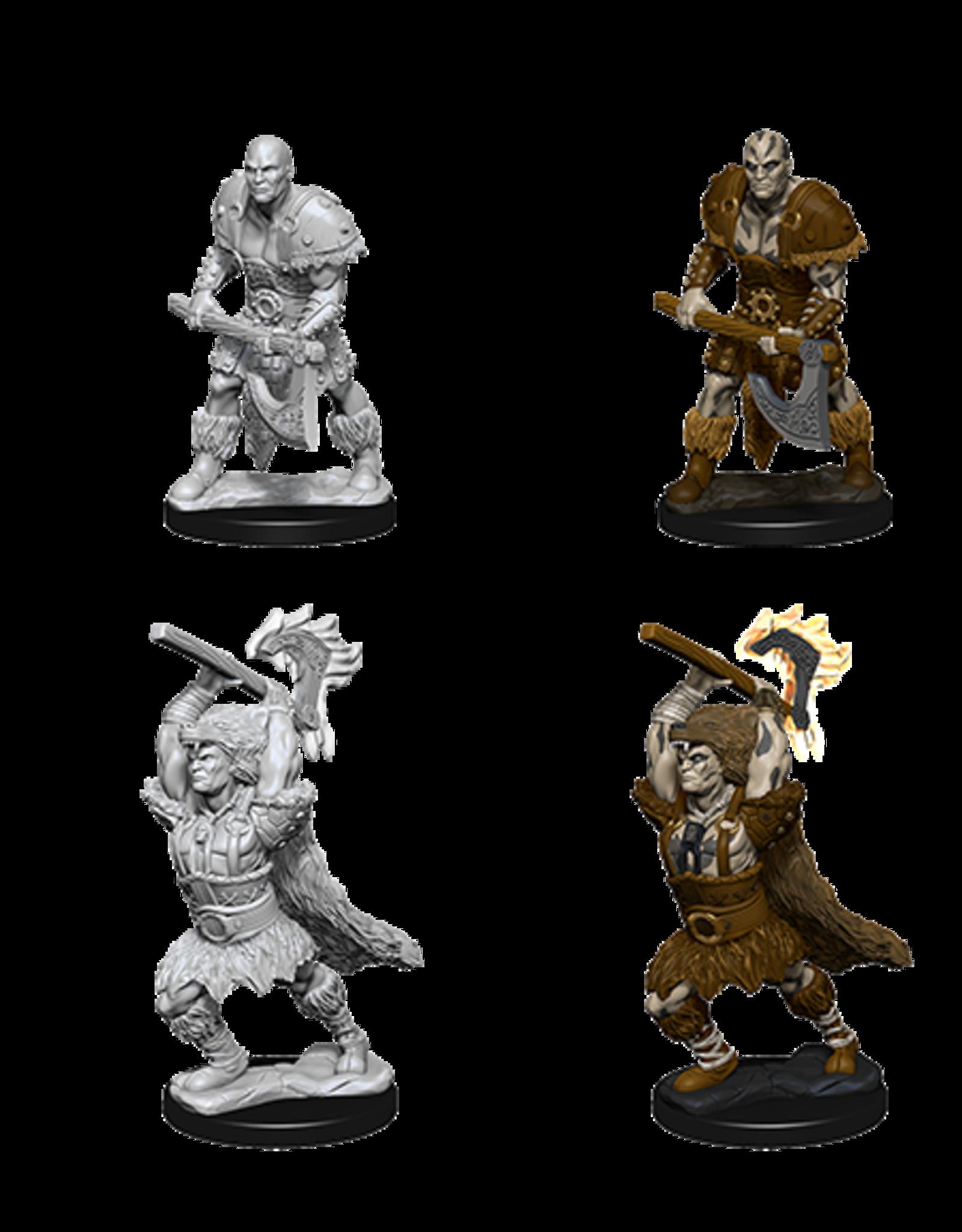 WizKids WZK D&D DC: W10: Male Goliath Barbarian