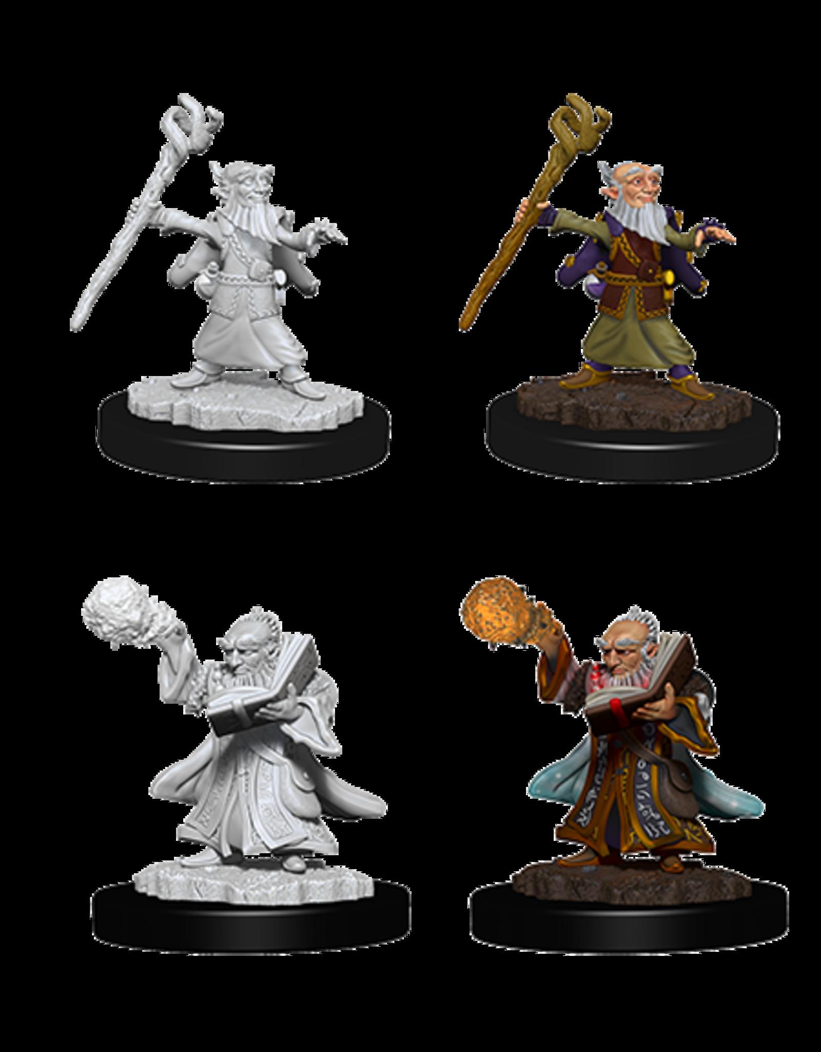 WizKids WZK D&D NMU: W6: Male Gnome Wizard