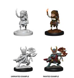 WizKids WZK D&D NMU: W6: Female Halfling Fighter