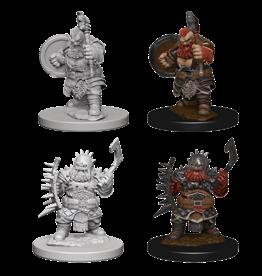 WizKids WZK: PF DC: W4: Dwarf Male Barbarian