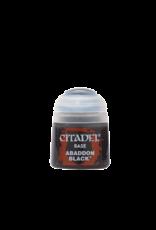 Citadel Citadel Paints: Base -  Abaddon Black