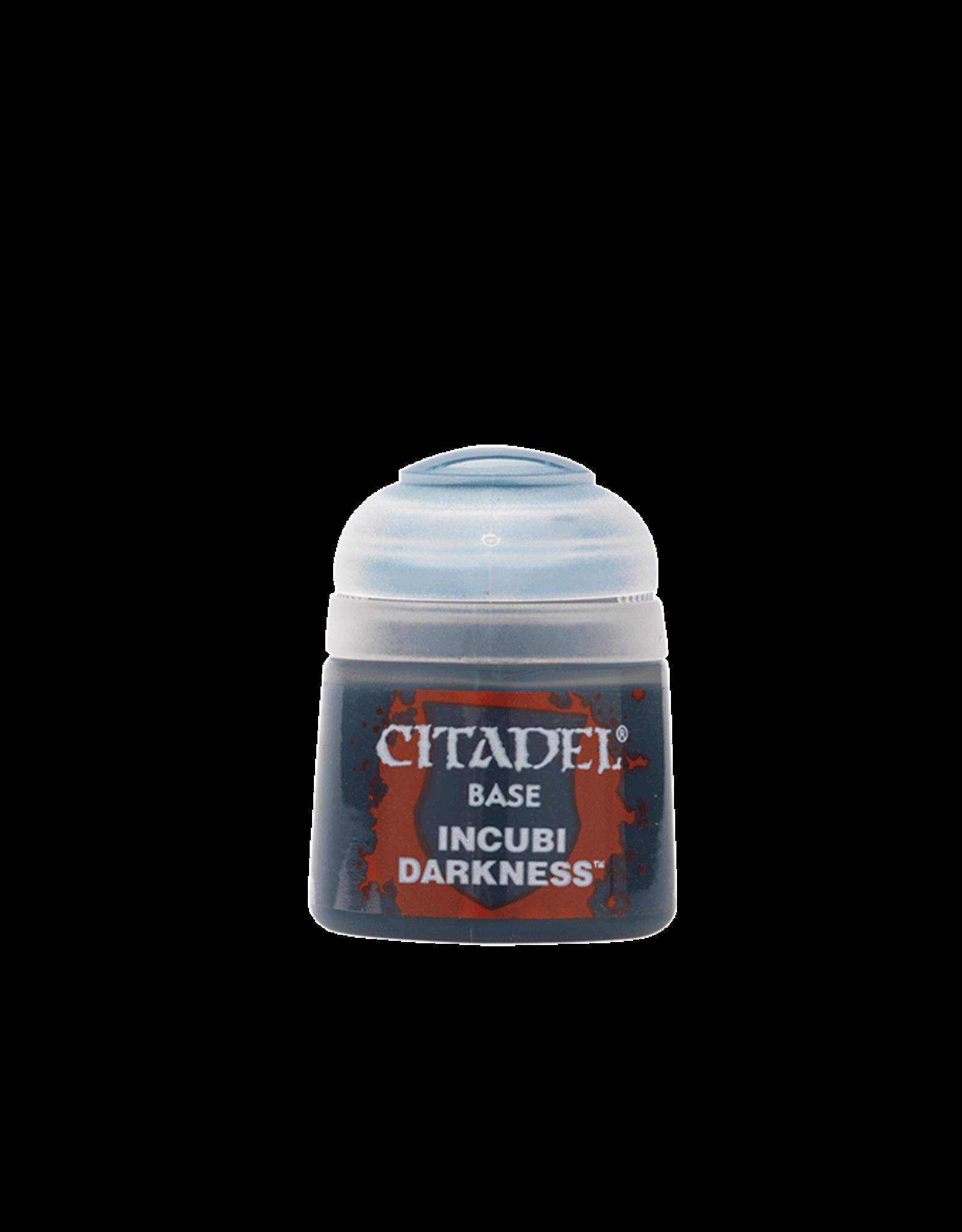 Citadel Citadel Paints: Base -  Incubi Darkness