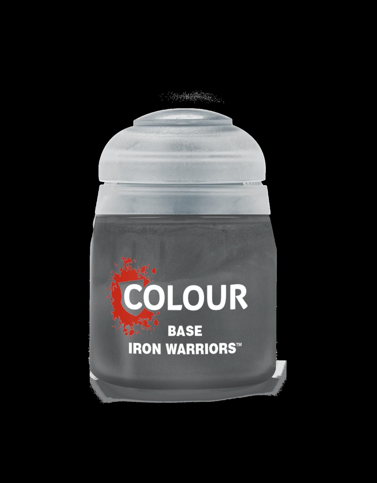 Citadel Citadel Paints: Base -  Iron Warriors