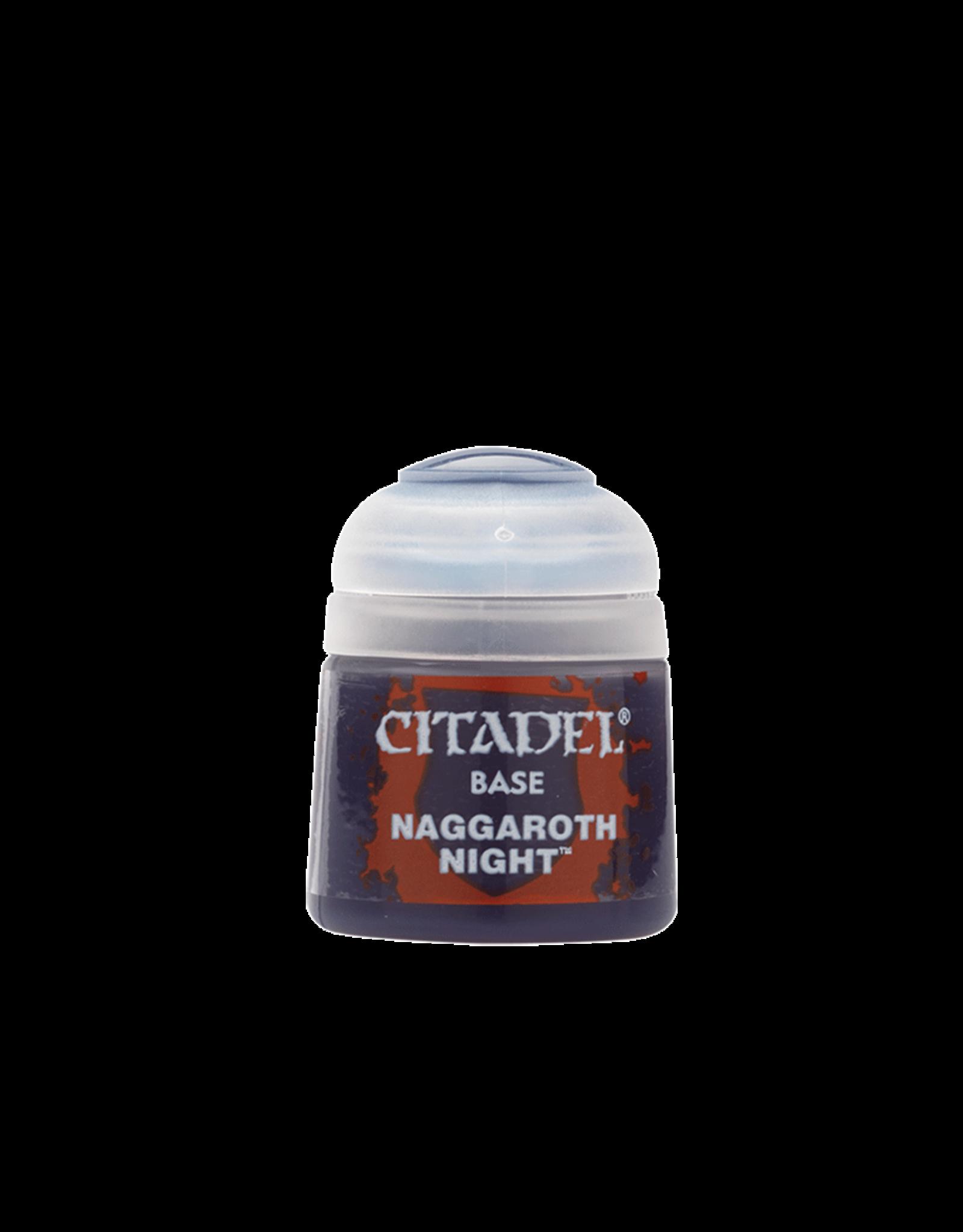 Citadel Citadel Paints: Base -  Naggaroth Night