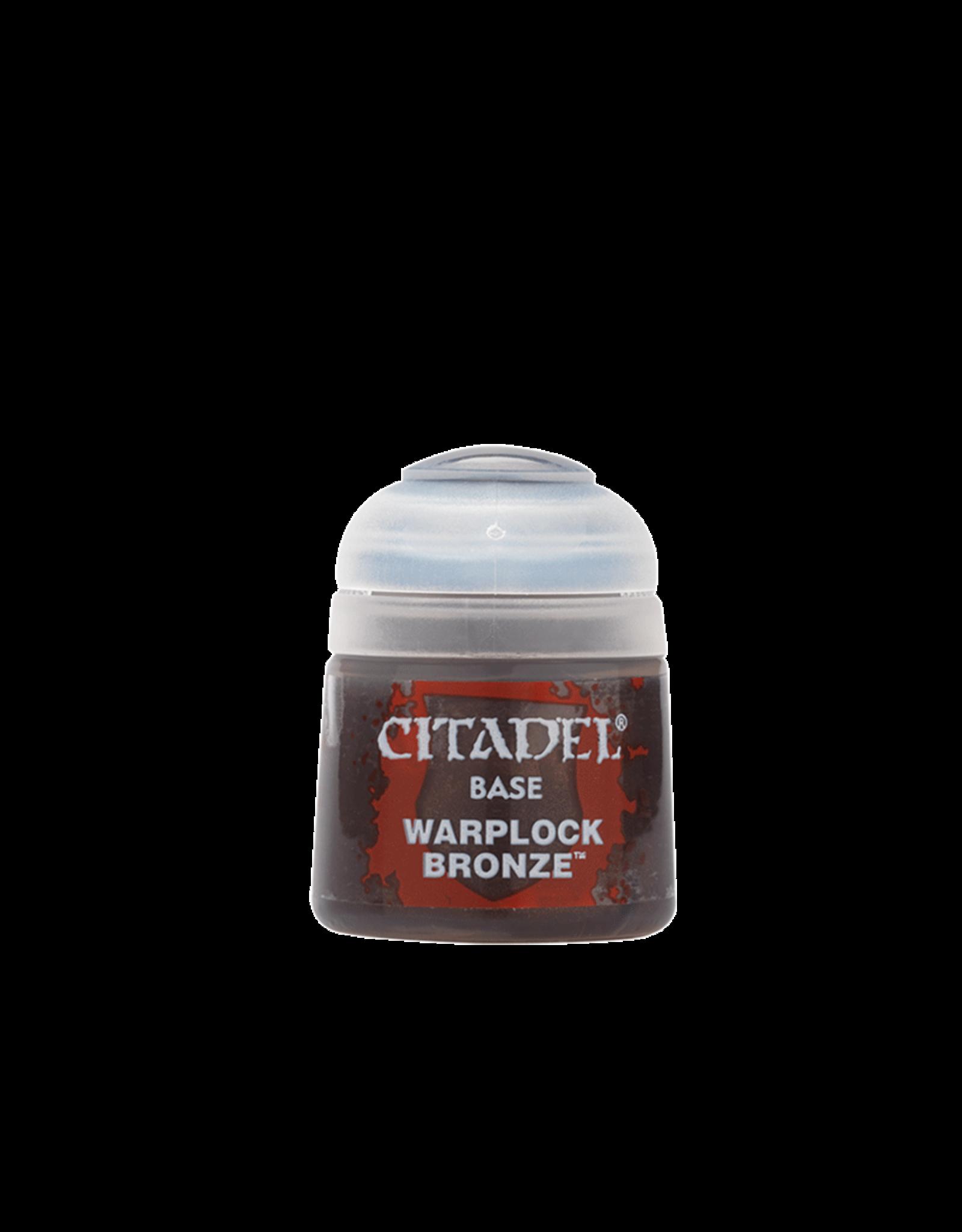 Citadel Citadel Paints: Base -  Warplock Bronze