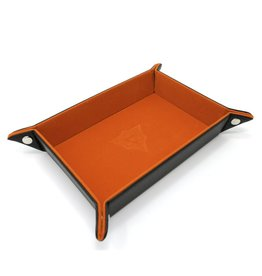 Die Hard Dice Die-Hard-Dice: Folding Rectangle Tray - Orange Velvet