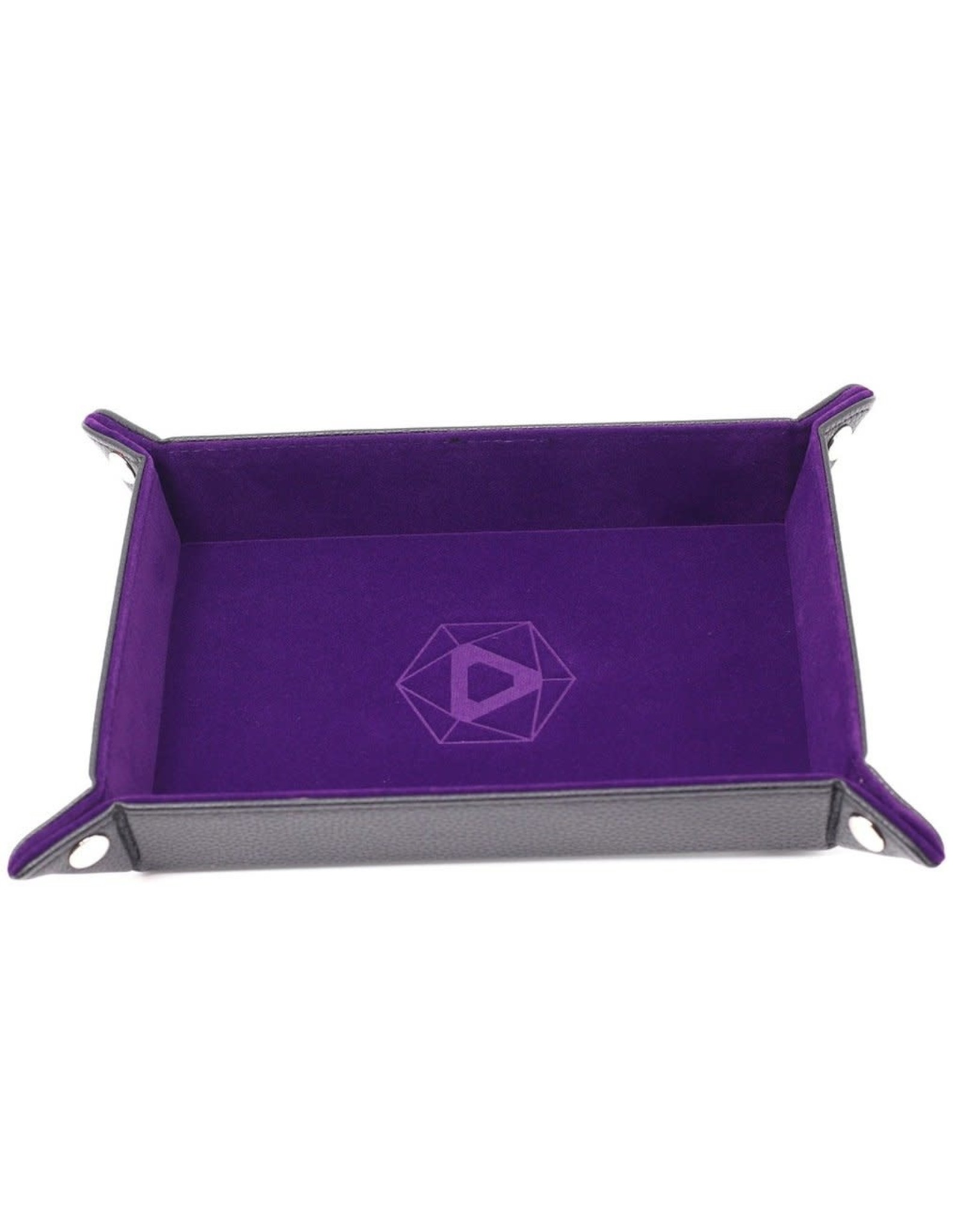 Die Hard Dice Die-Hard-Dice: Folding Rectangle Tray - Purple Velvet