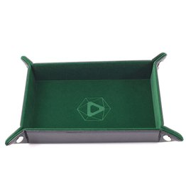 Die Hard Dice Die-Hard-Dice: Folding Rectangle Tray - Green Velvet