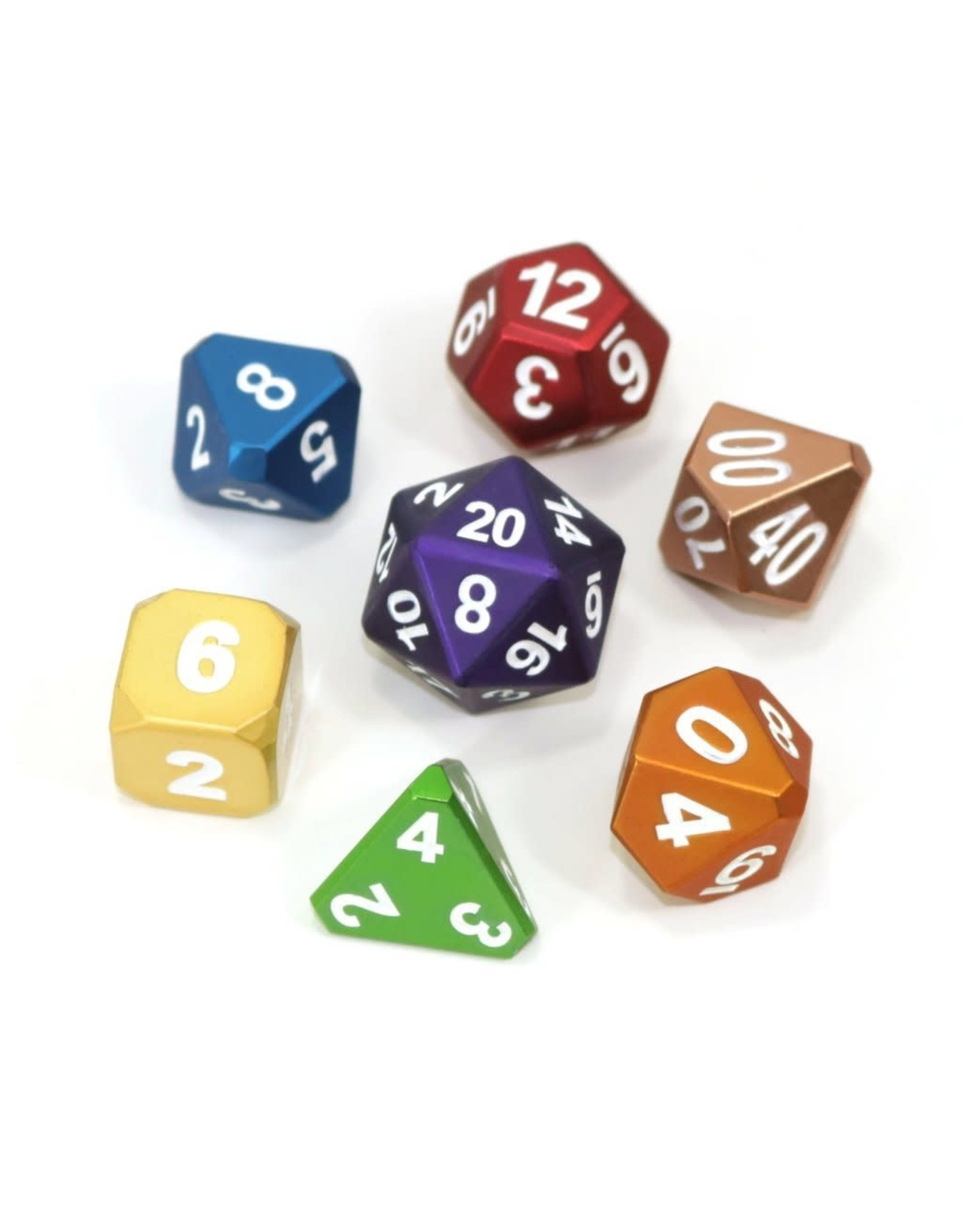 Die Hard Dice Die-Hard-Dice: Frosted Rainbow Mix