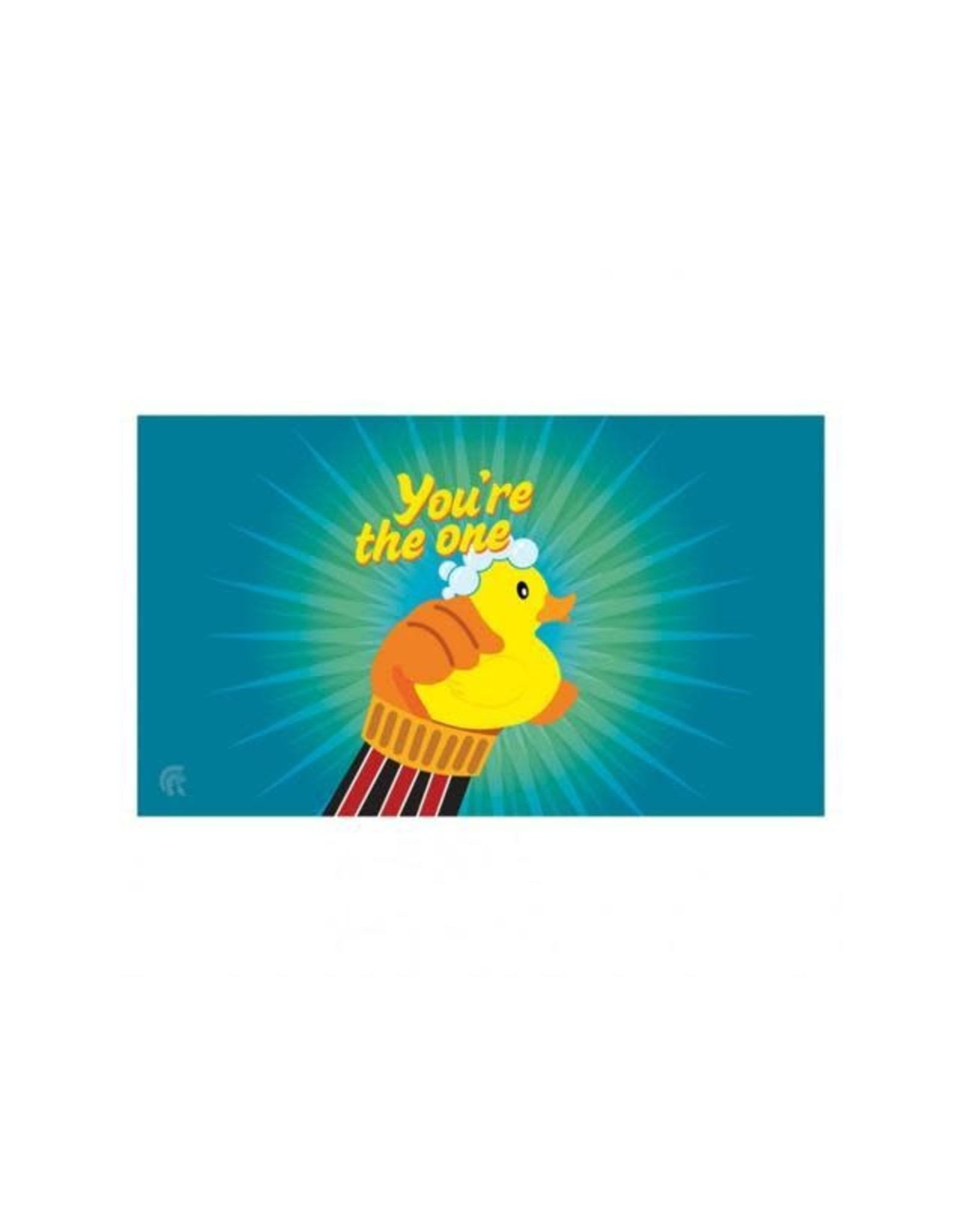 Play Mat: Rubber Ducky