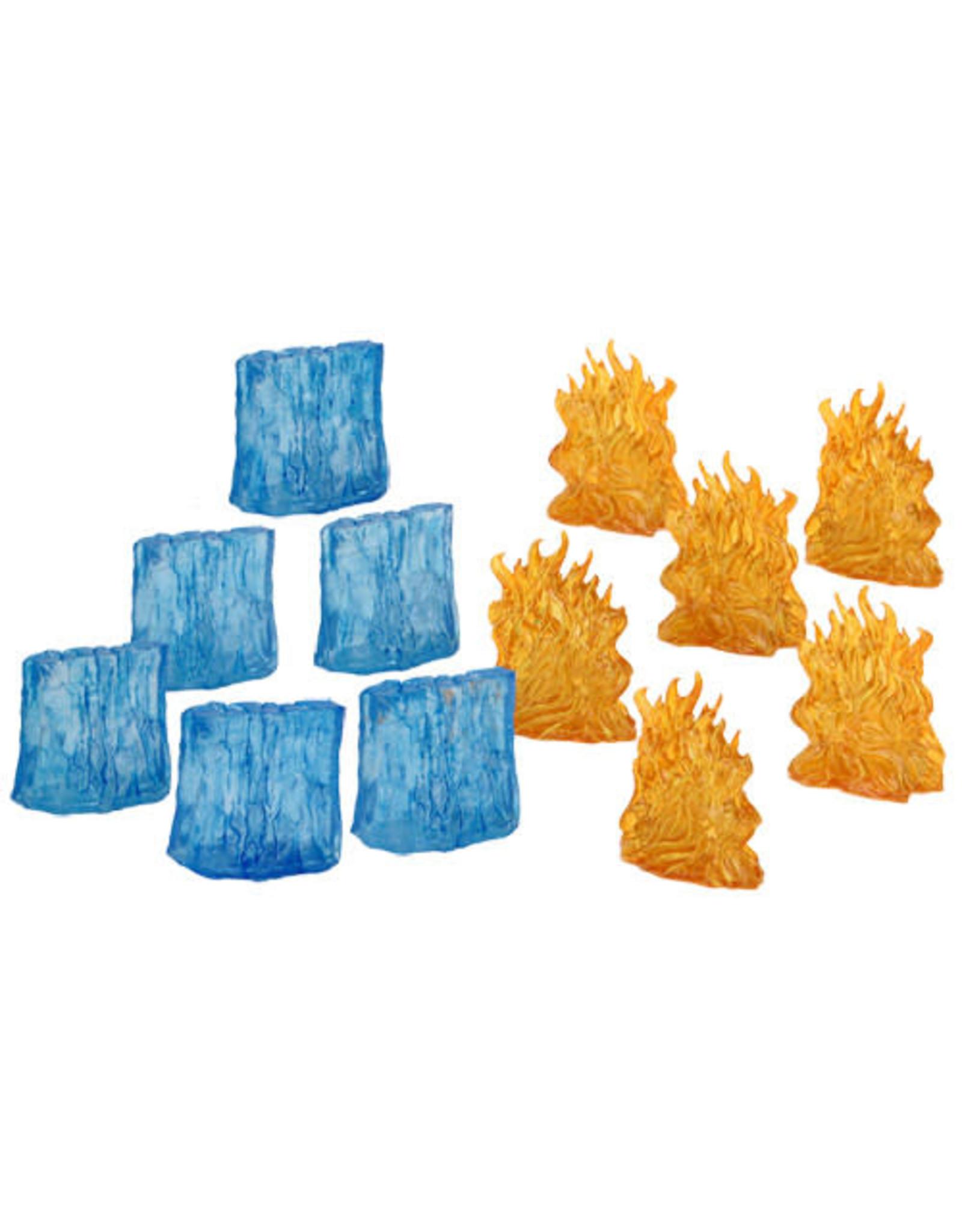 WizKids WZK D&D Spell Effects: Wall of Fire & Ice