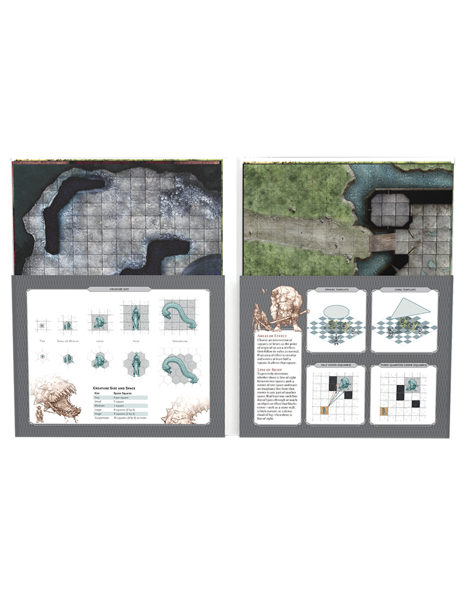 Wizards of the Coast D&D 5th Ed: Tactical Maps Reincarnated