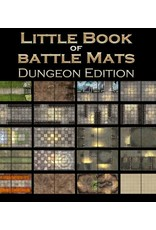 Battle Mat: Little Book of Battle Maps, Dungeon Ed.