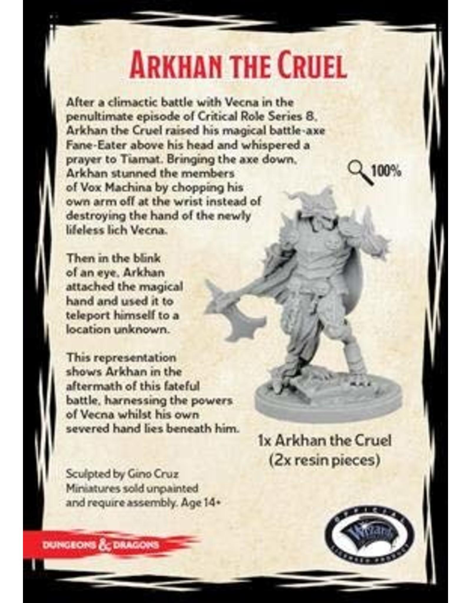 GaleForce9 GF9: D&D Collector's Series: Arkhan the Cruel