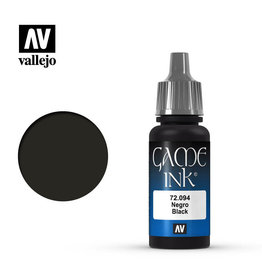 Vallejo Vallejo: Game Color: Black Ink (17ml)