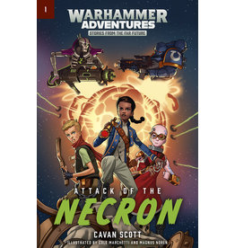 GW: Black Library BL: Warhammer Adventures: Attack of the Necron