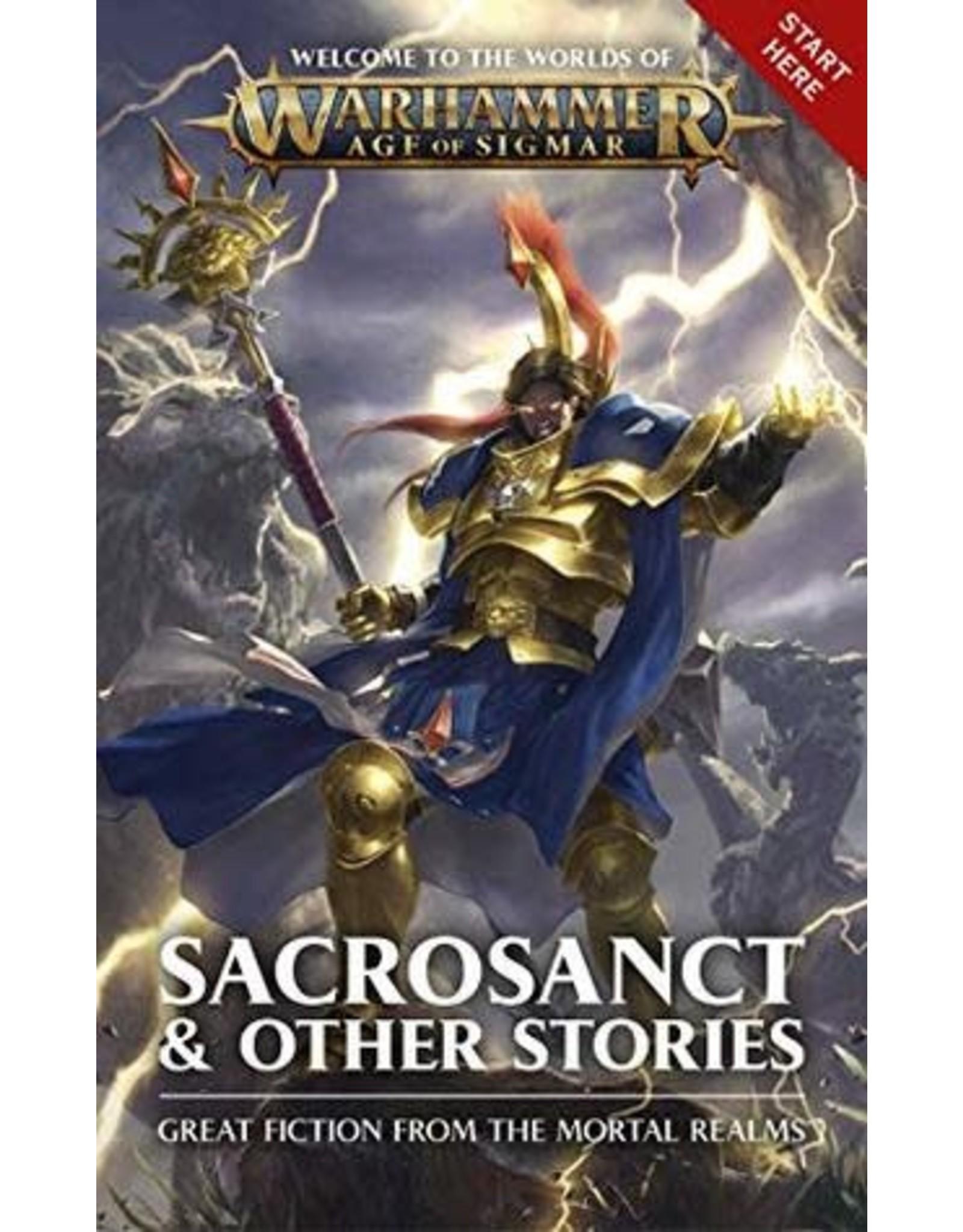 GW: Black Library BL: Sacrosanct & Other Stories