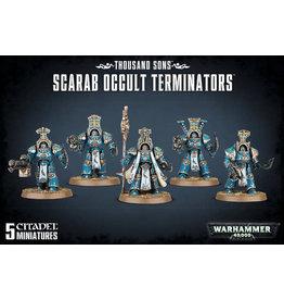 GW: Games Workshop GW: 40K: Chaos Space Marine Thousand Sons Scarab Occult Terminators