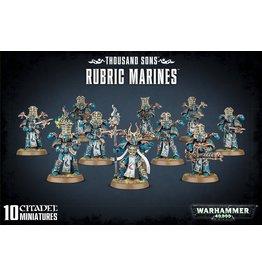 GW: Games Workshop GW: 40K: Chaos Space Marine Thousand Sons Rubric Marines