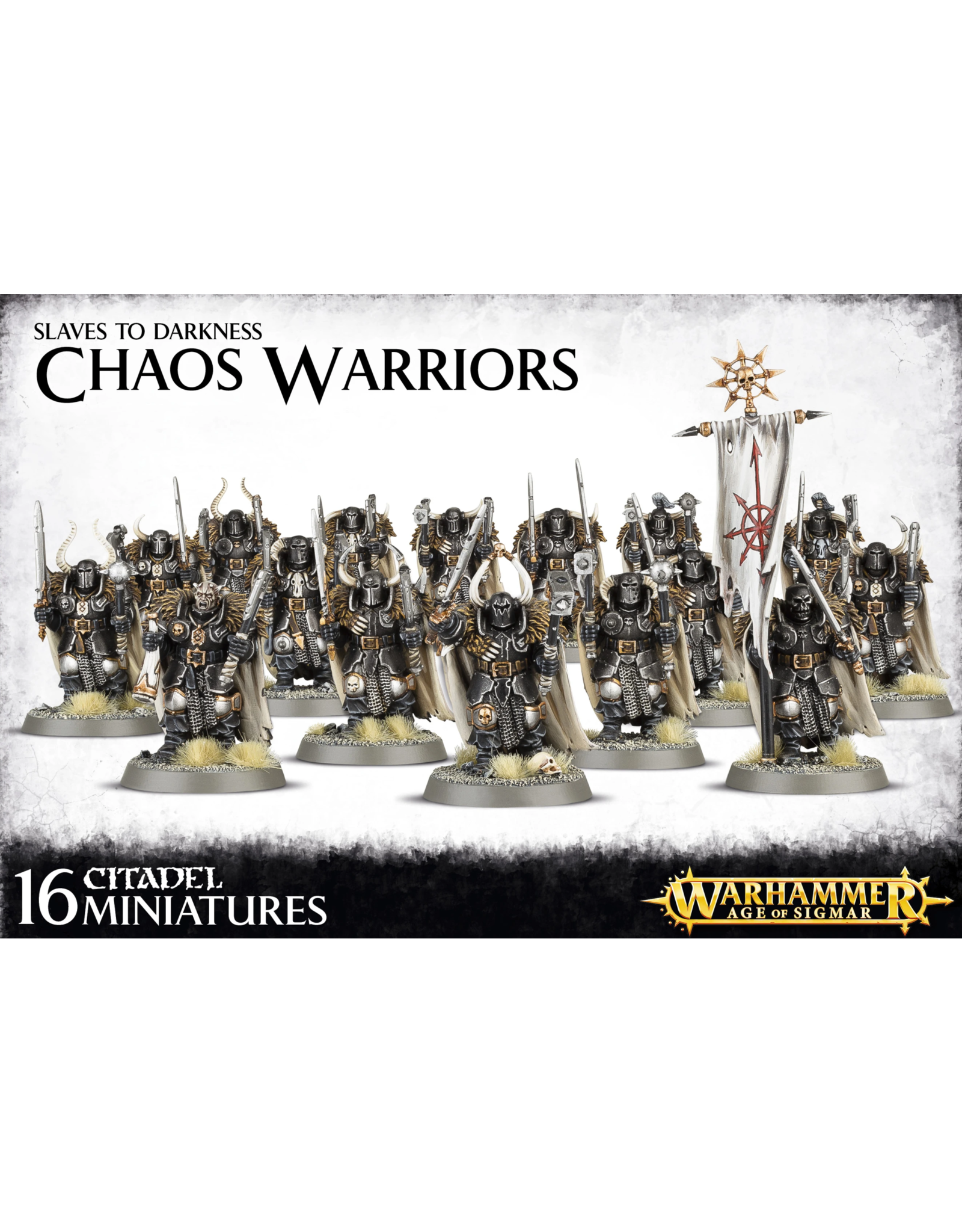 GW: Games Workshop GW: AoS: Chaos Slaves to Darkness: Chaos Warriors