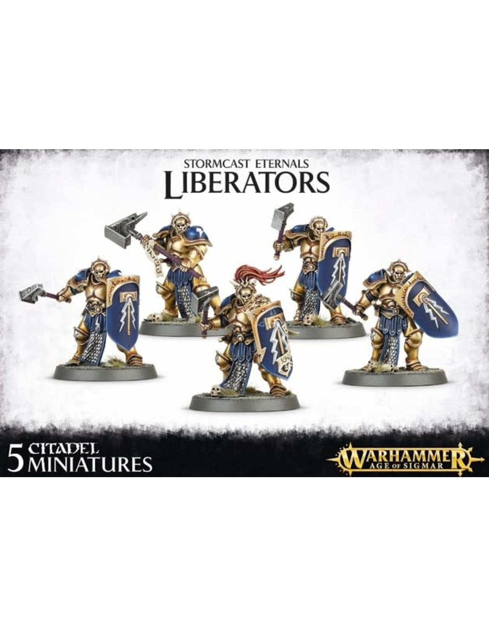 GW: Games Workshop GW: AoS: Stormcast Eternals Liberators