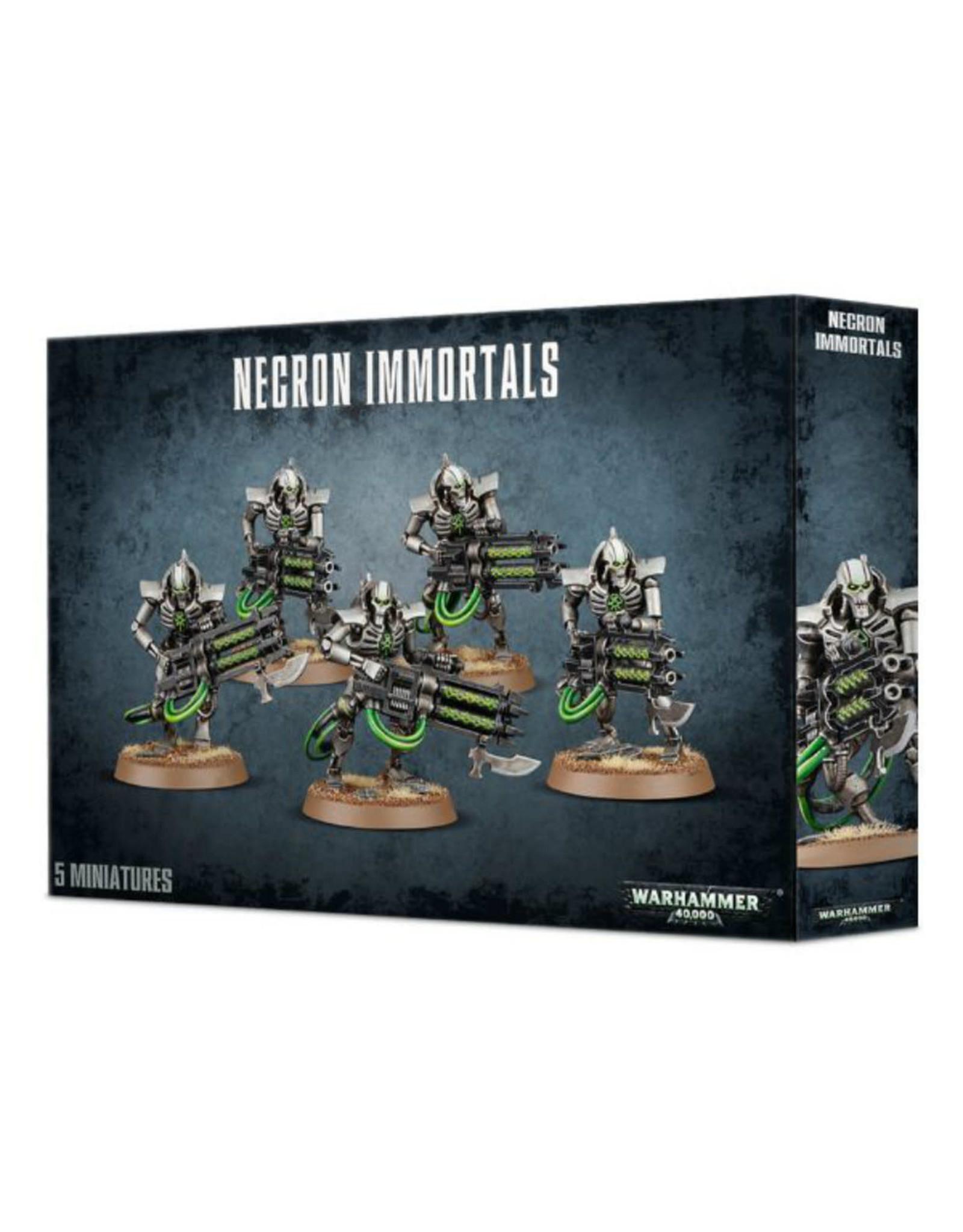 GW: Games Workshop GW: 40K: Necron Immortals/Deathmarks