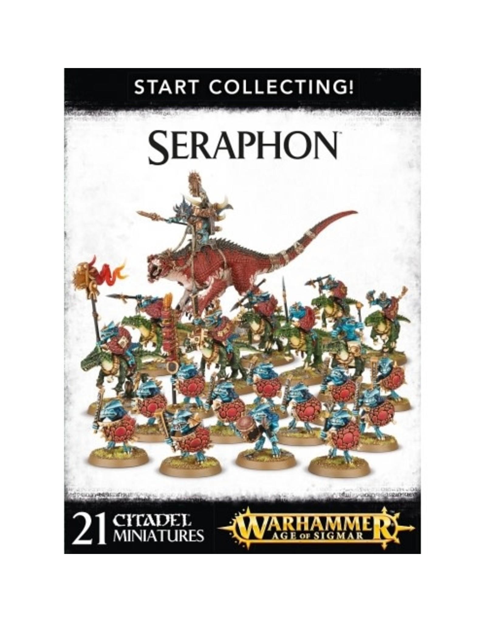 GW: Games Workshop GW: AoS: Start Collecting! Seraphon