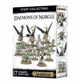 GW: Games Workshop GW: AoS: Start Collecting! Daemons of Nurgle
