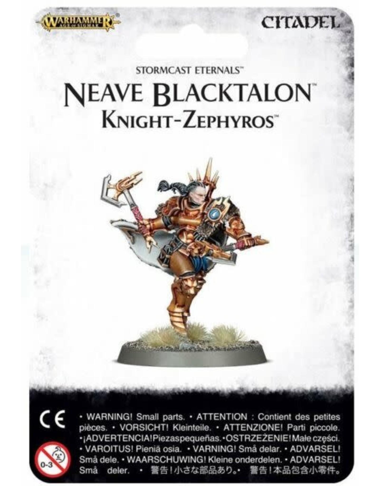 GW: Games Workshop GW: AoS: Stormcast Eternals - Neave Blacktalon