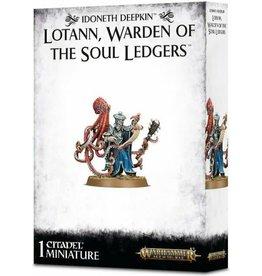 GW: Games Workshop GW: AoS: Idoneth Deepkin: Lotann, Warden of the Soul Ledgers