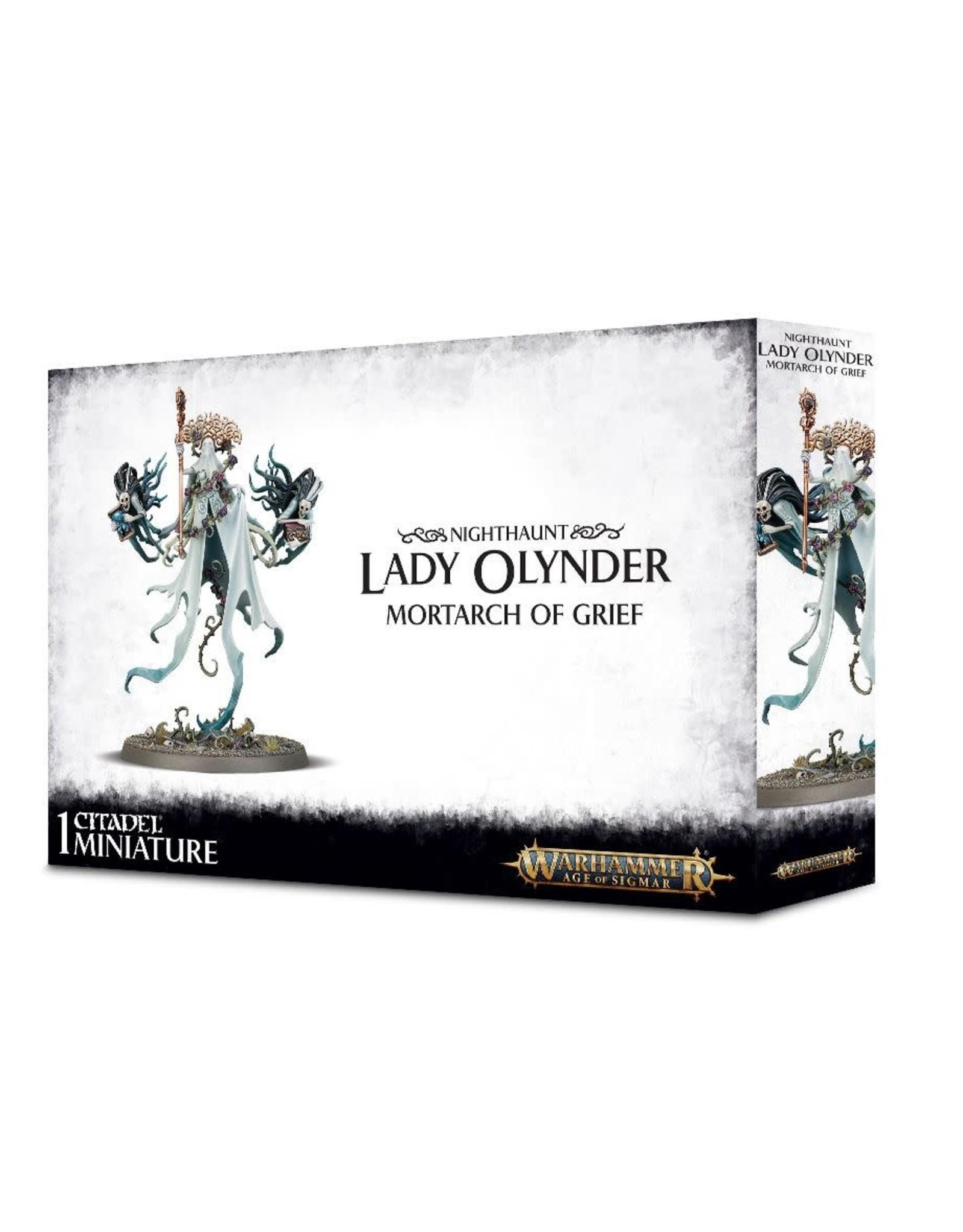 GW: Games Workshop GW: AoS: Nighthaunts: Lady Olynder