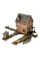 GW: Games Workshop GW: LotR Hobbit: Lake-Town House