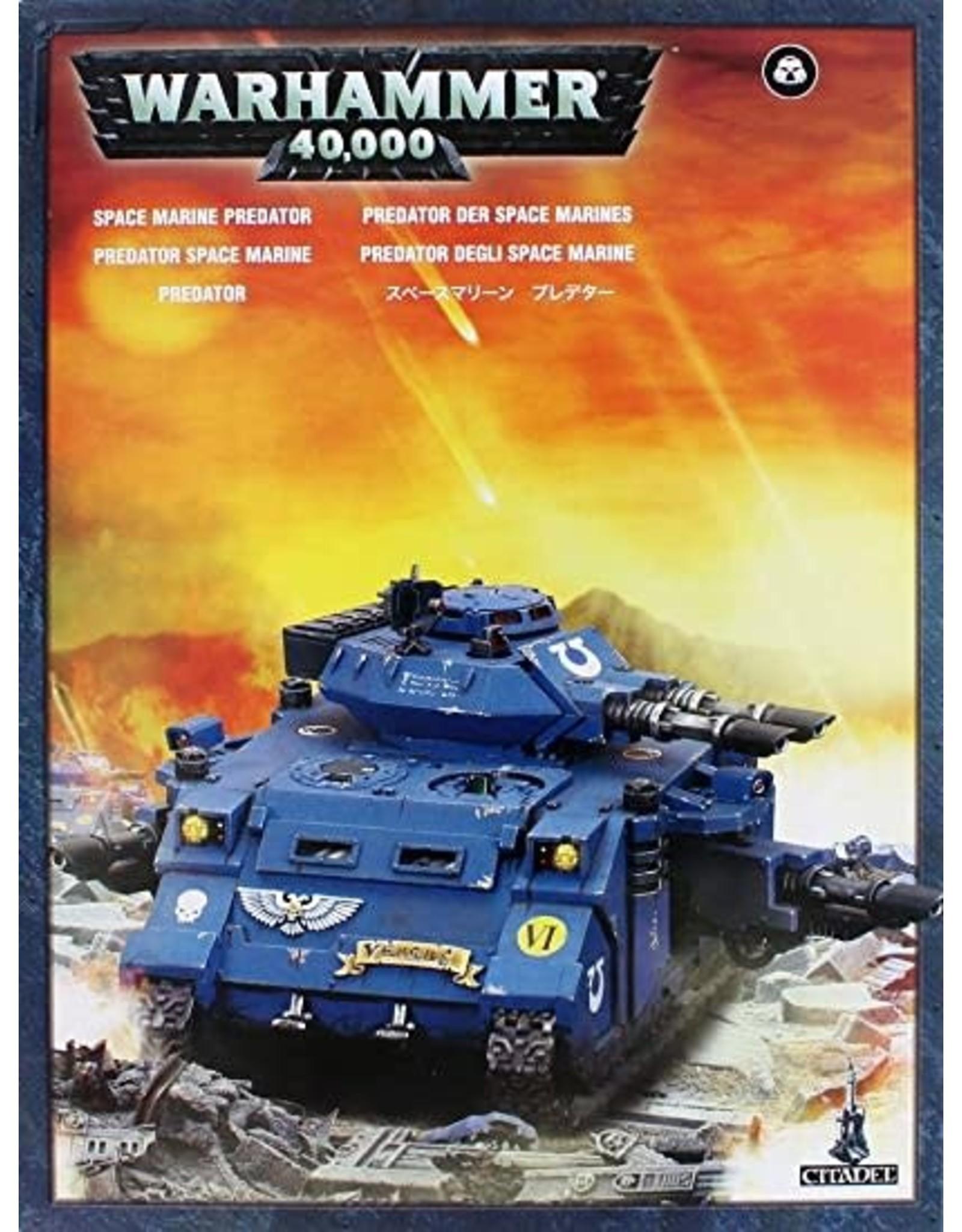GW: Games Workshop GW: 40K: Space Marine Predator