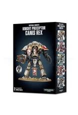 GW: Games Workshop GW: 40K: Knight Preceptor Canis Rex