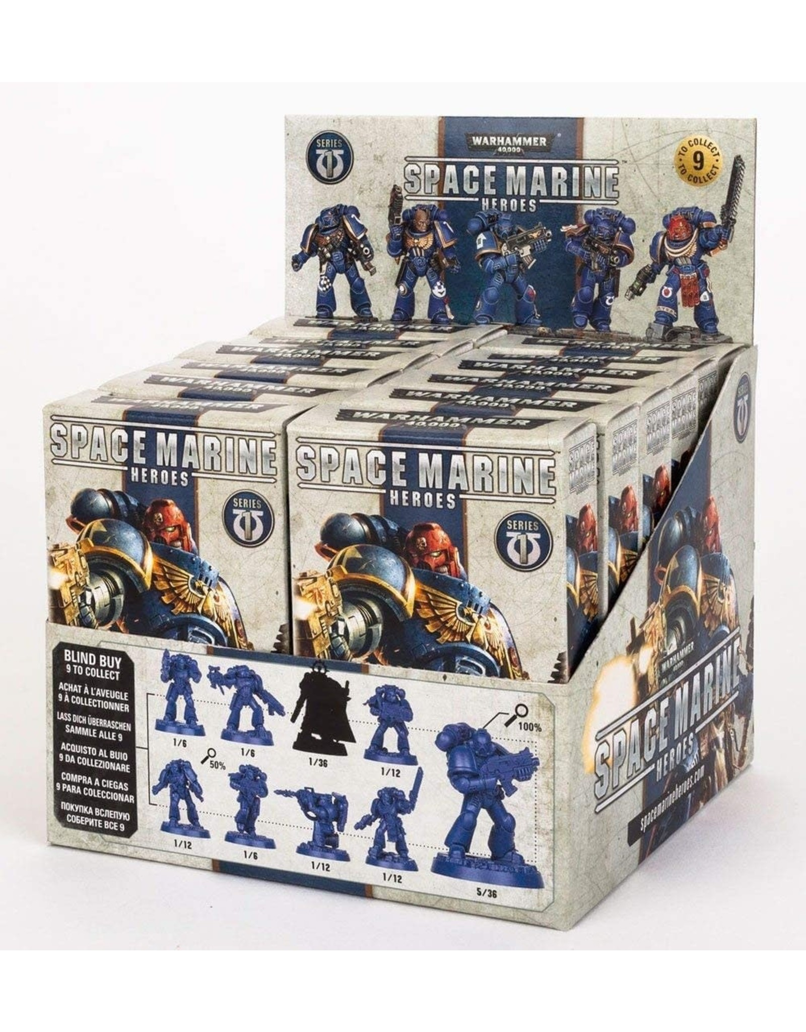 GW: Games Workshop GW: 40k: Space Marine Heroes Single