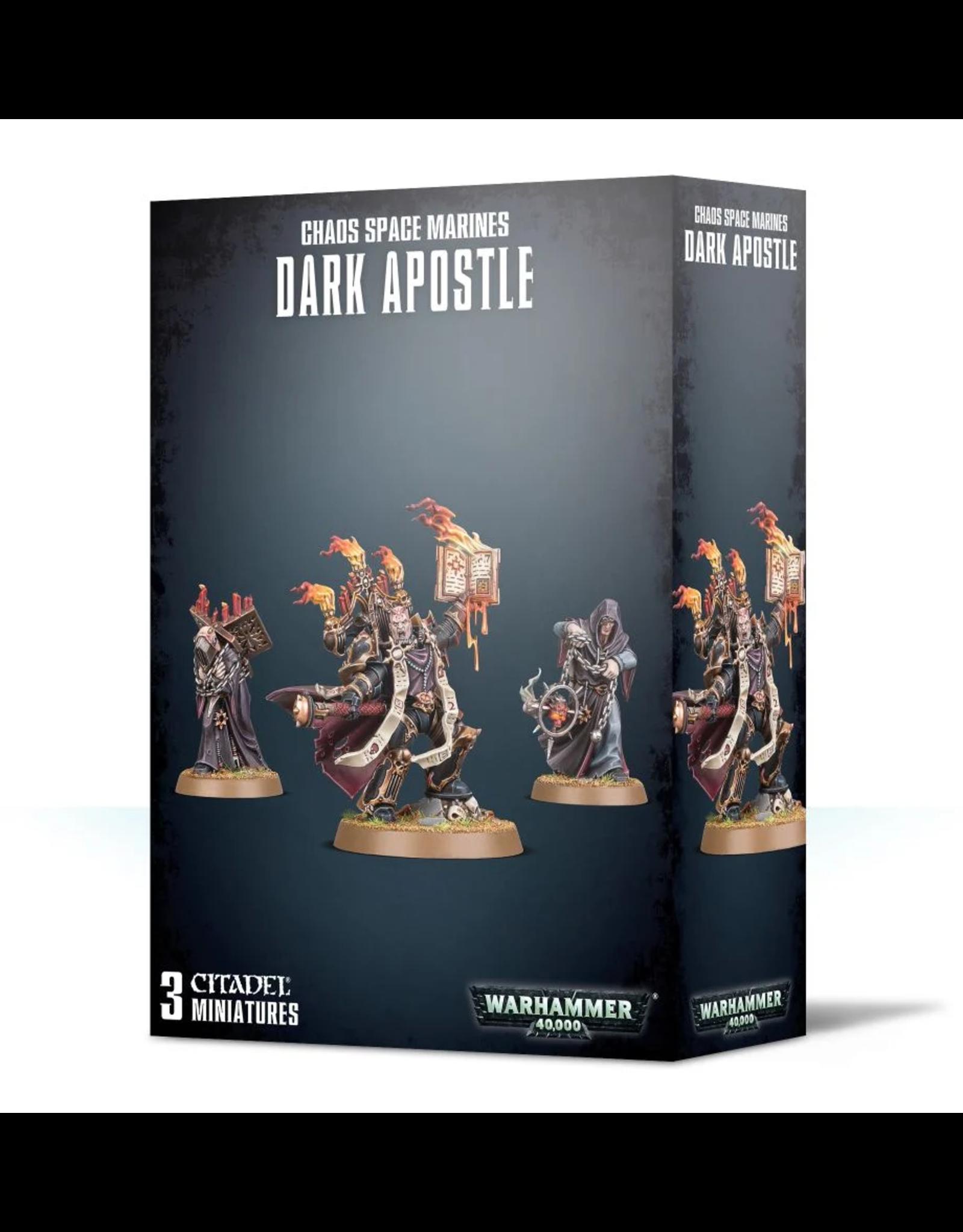 GW: Games Workshop GW: 40k: Chaos Space Marines Dark Apostle
