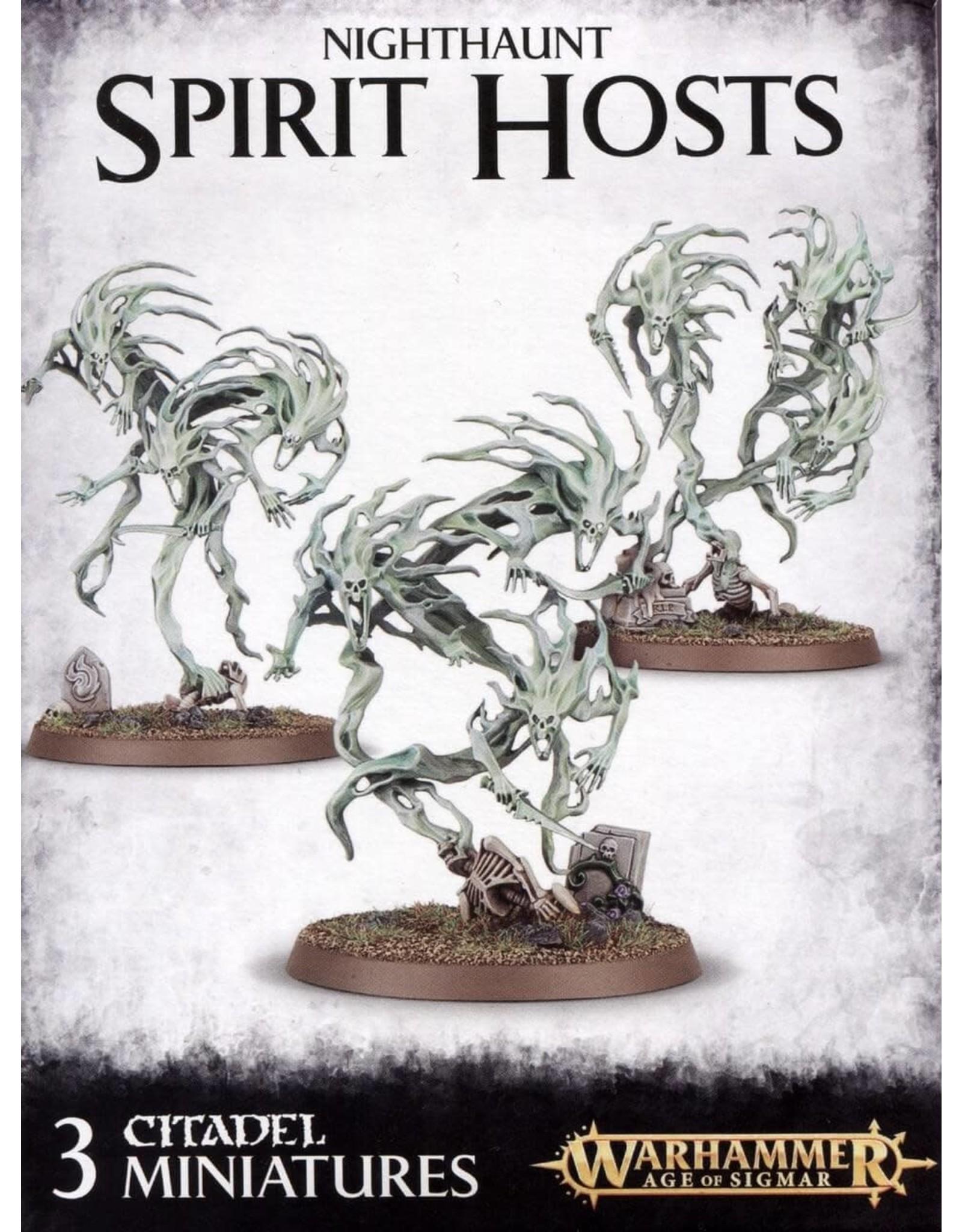 GW: Games Workshop GW: AoS: Nighthaunt Spirit Hosts
