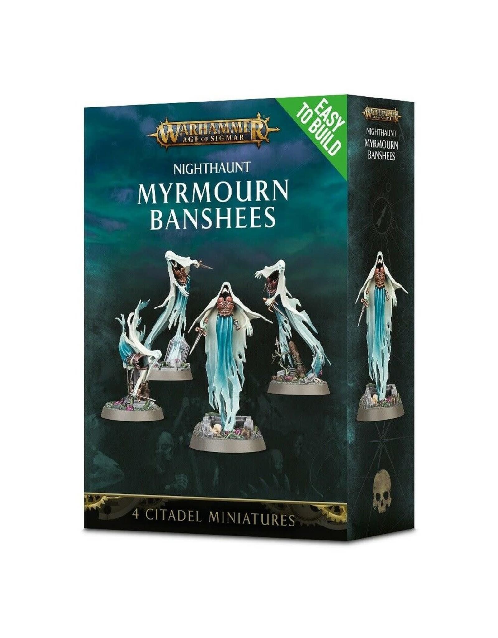 GW: Games Workshop GW: AoS: Nighthaunt Myrmourn Banshees