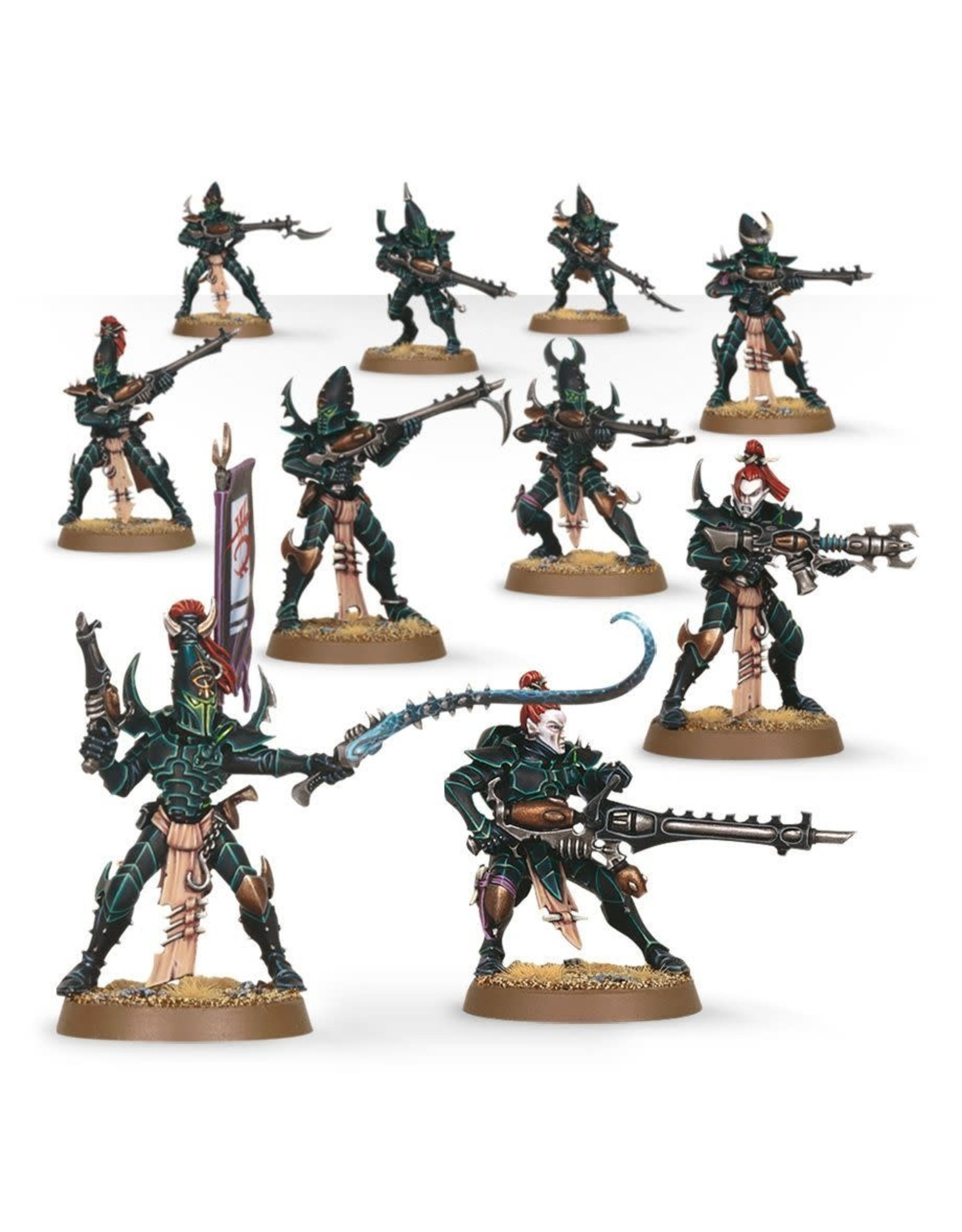 GW: Games Workshop GW: AoS: Dark Eldar Kabalite Warriors