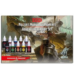 Army Painter Paint Set: D&D 5th Edition- Nolzur's Marvelous Pigments- The Adventurers Paint Set