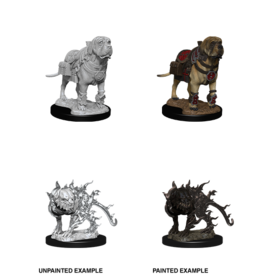 WizKids WZK D&D Minis: W11: Mastif & Shadow Mastif