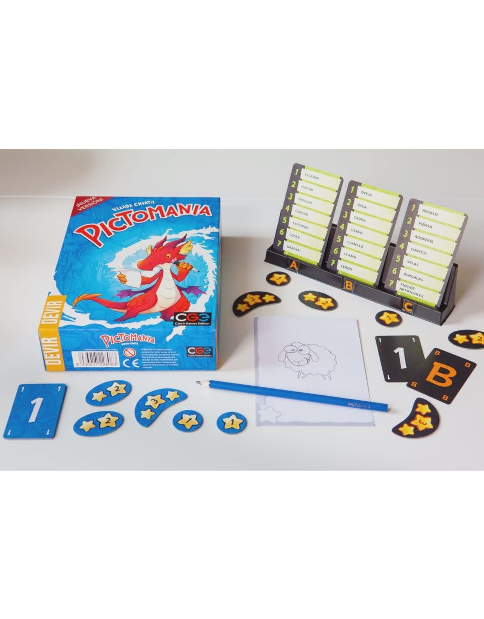 Czech Games Edition CGE: Pictomania